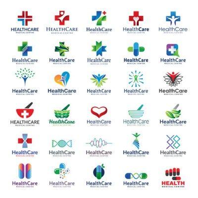 Vektörel Medikal ve Sağlık Logoları