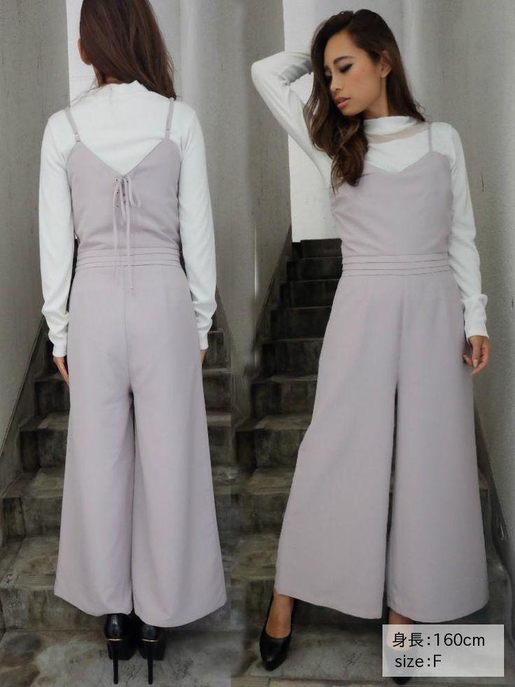 リゼクシー│RESEXXY公式ファッション通販|ランウェイチャンネルバックレースアップコンビネゾンの詳細情報| RUNWAY channel(ランウェイチャンネル)(151650344101)