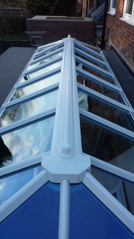 Roof Lantern Skylight Upvc Glazed Conservatory Flat