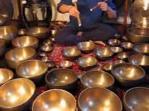 """Gong and Tibetan Singing Bowl Meditation -- well, the bowls aren't """"natural"""" but the music they make is magical."""