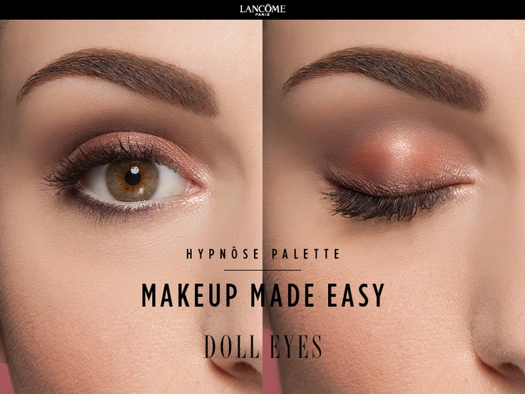 New Hypnôse Palette by Lancôme. Doll Eyes Look. Wide Eyes ...
