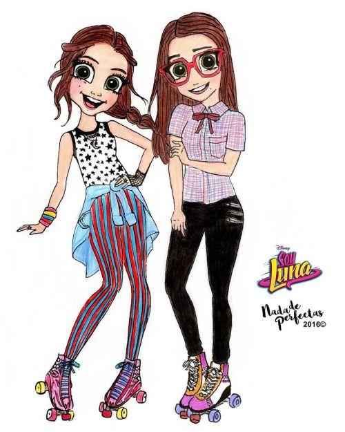 Nina y Luna