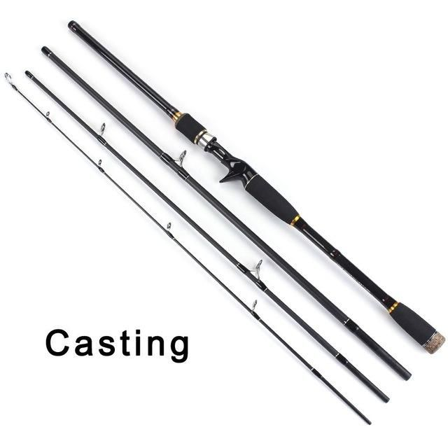 100% Carbon Fiber Spinning Fishing Rods C