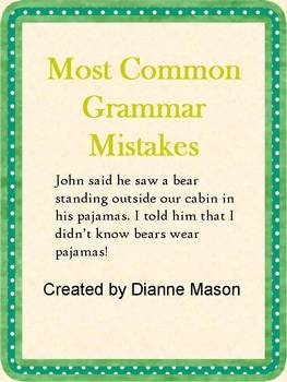 Most common mistakes in student research papers
