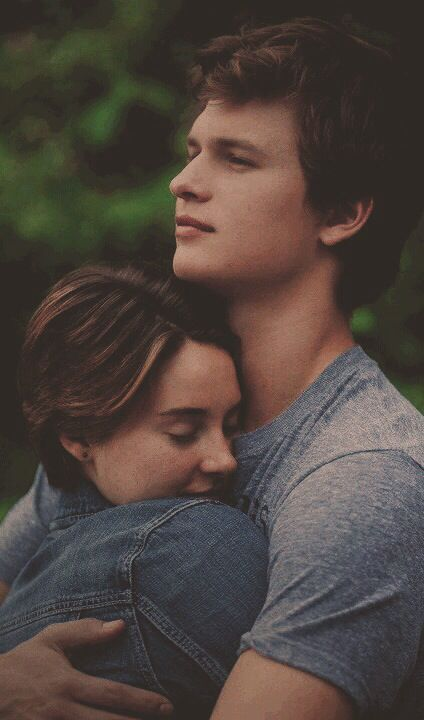 the fault in our stars is such an awsome movie I love autgus waters and hazel grace
