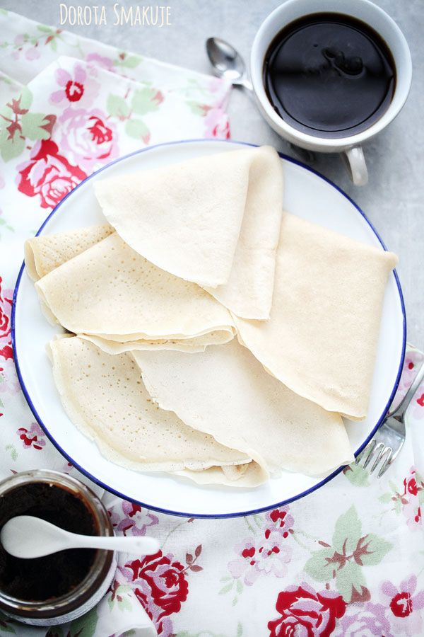Naleśniki bez mleka - przepis #pancakes #milkfree