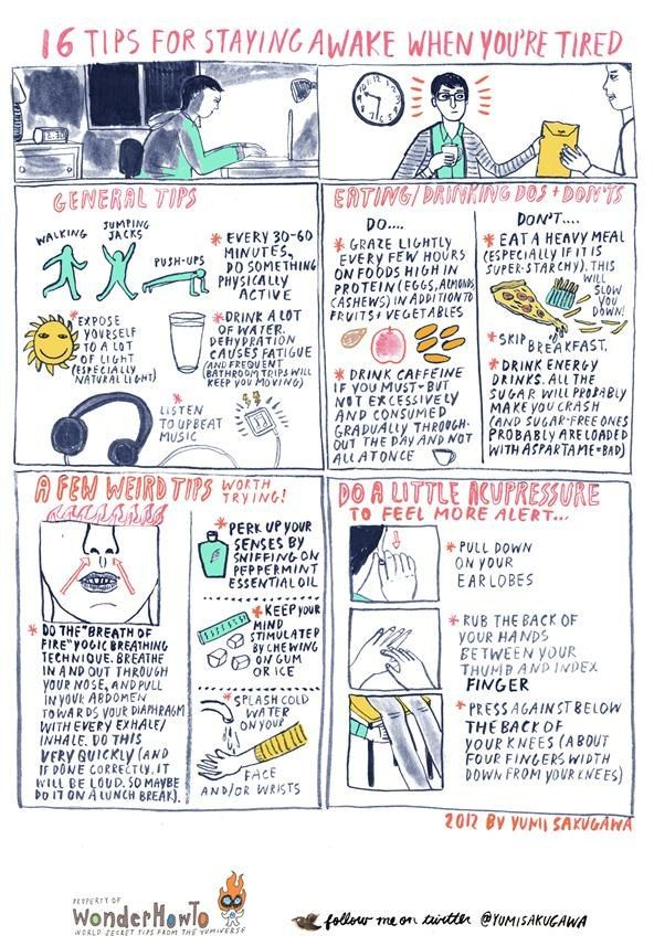 Ways To Stay Awake Cool 46 Best Tips & Trick Images On Pinterest  Cleaning Info Graphics .