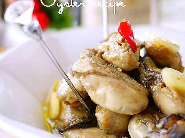 冬のおつまみ♪大蒜香る牡蠣のオイル漬けの画像