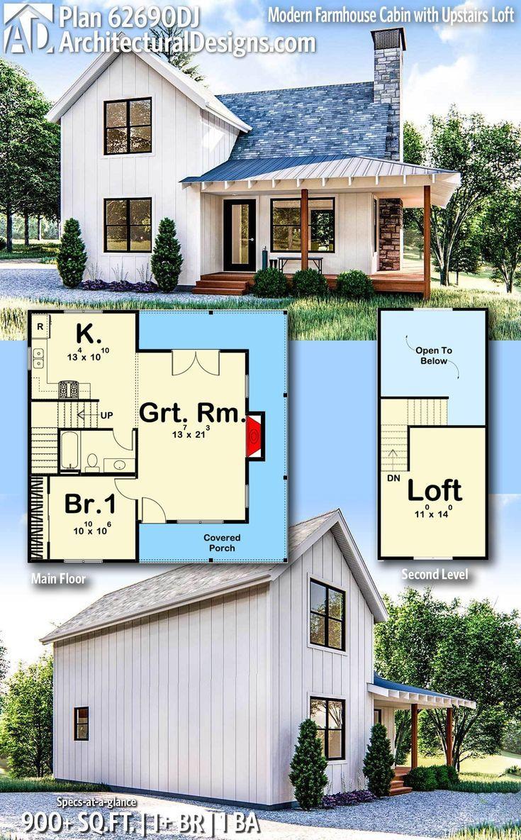34++ Farmhouse cabin plans type