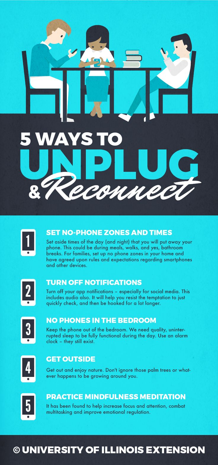 5 Ways to Unplug and Reconnect –great for recent generations struggling with a bit of smart phone addiction!