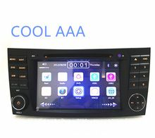 Voiture radio DVD 2 din pour Mercedes E G classe W211 W464 CLS GPS NAVI avec Radio 2 din pour W211 classe E 2002-2008 WIFI 3G(China (Mainland))