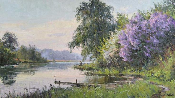 Efremov Alexey. The lilac morning