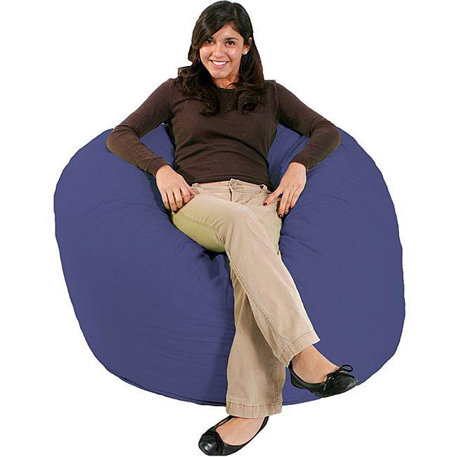 Comfort Research FufSack Purple Bean Bag Chair