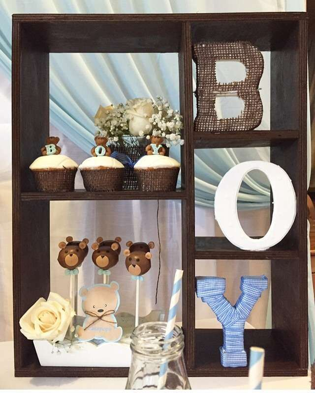 Teddy bear Baby Shower Party Ideas | Photo 3 of 4 | Catch My Party …