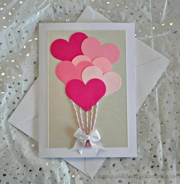 Herzkarten für Muttertag