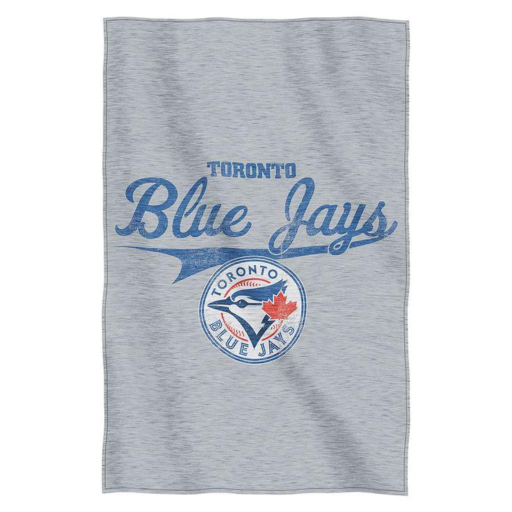 Toronto Blue Jays Sweatshirt Throw Blanket  #torontobluejays #bluejays #aleastchamps #bluejaysblanket  Purchase here: http://www.mysportsdecor.com/toronto-blue-jays-sweatshirt-throw-blanket.html
