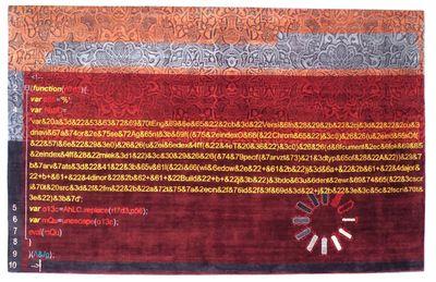 caturegli formica architetti associati - CF V5, 2014-2015, hand-knotted silk carpet, cm 350x220