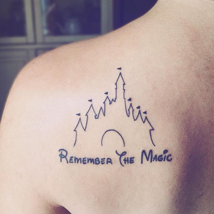 26 Disney Castle Tattoos, So Everywhere You Go Is the Happiest Place on Earth