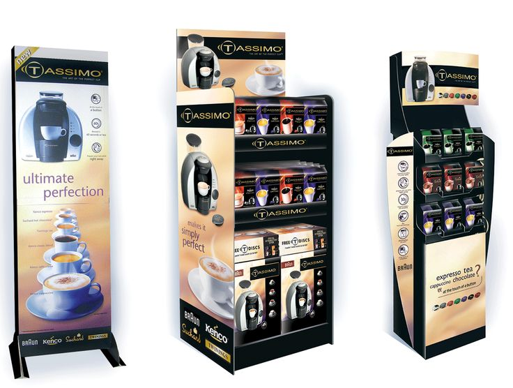 Kraft - Tassimo Units (Design Activity)