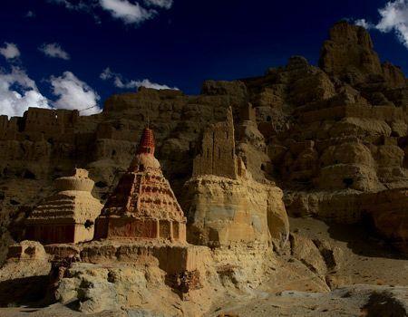 Guge Kingdom ruins Western Tibet