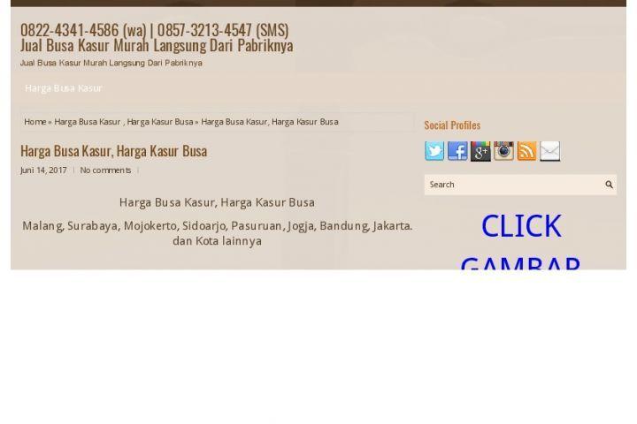 0822-4341-4586 (wa) Harga kasur Busa