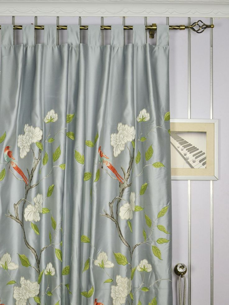 best 20 silk curtains ideas on pinterest french. Black Bedroom Furniture Sets. Home Design Ideas