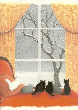 Love Henry Cole's artwork for children.  His book Nest for Celeste was *wonderful*.