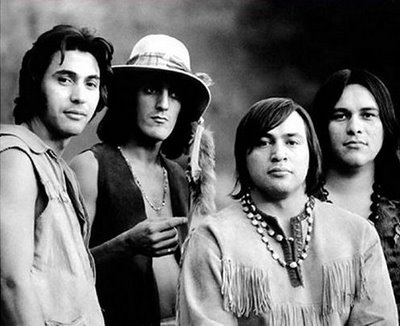 "Red Bone 1970's Native American Rock Band - Popular hit ""Come and get your love"""
