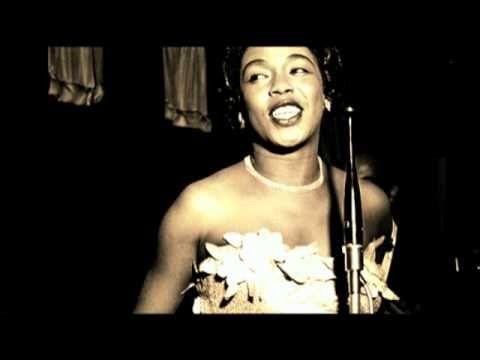 Sarah Vaughan - Lullaby of Birdland (1954). One of my favorite singers. One of my favorite songs.