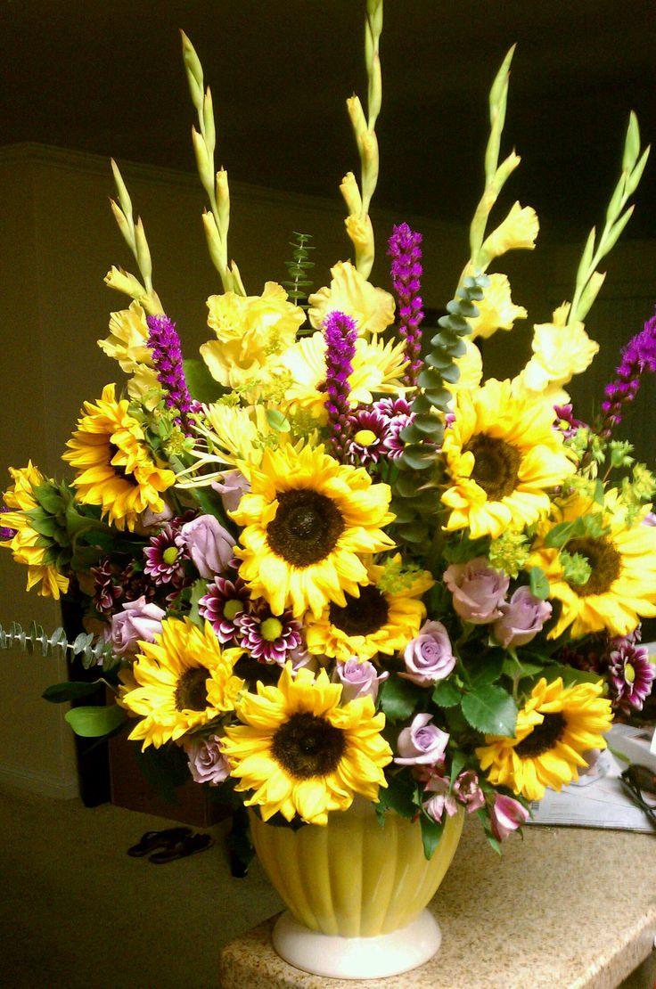 Best ideas about summer flower arrangements on