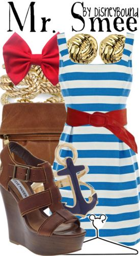 Mr. Smee by DisneyBound. How cute is this for a party?