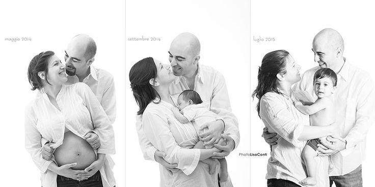Fotografia di famiglia - di Lisa Conti - #family #pregnant #newborn Milano
