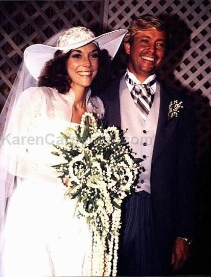 Karen Carpenter's wedding day