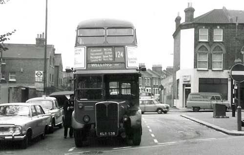 RT1289 at the Catford stand