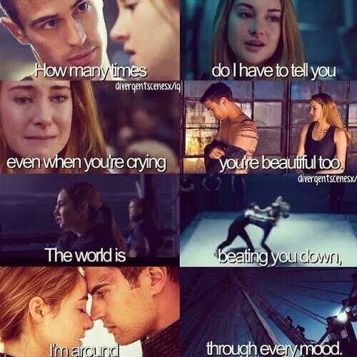 Divergent. Tris and Tobias ♡