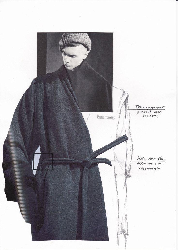 Fashion Sketchbook – fashion collage; fashion design sketch; fashion portfolio // Katarina Lindell