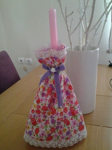 Easter candle dress