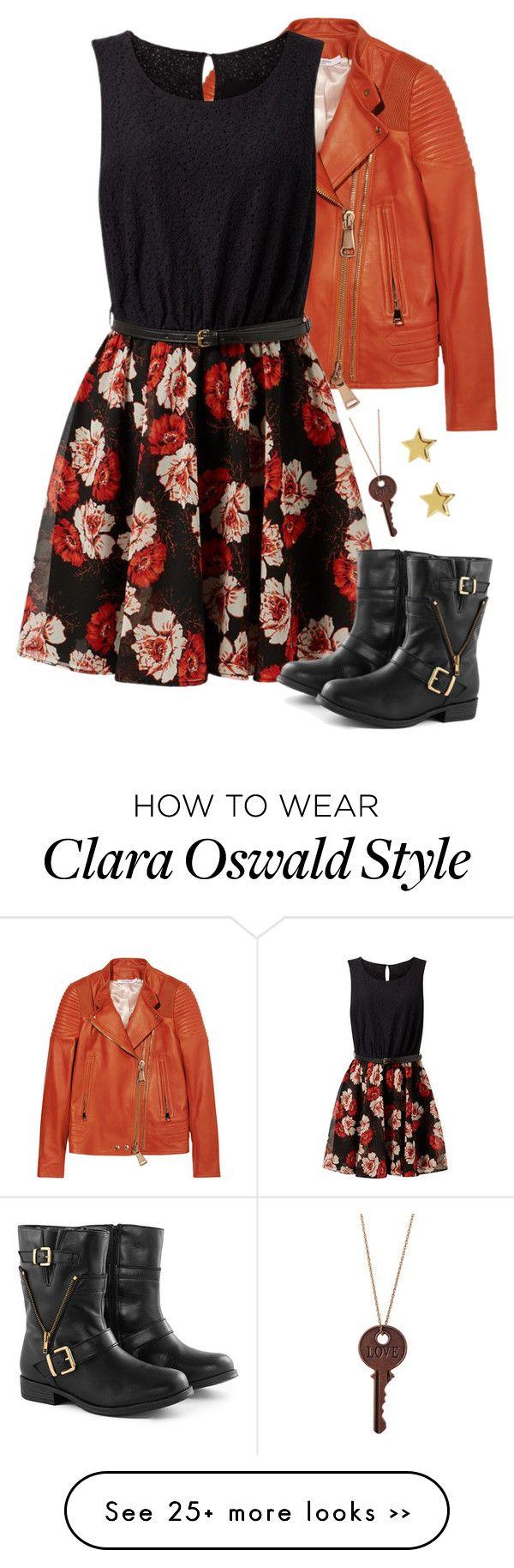 """Clara Oswald"" by cosplaycrazy13 on Polyvore"
