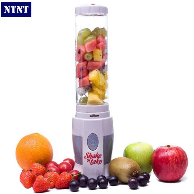 Free Post New EU plug Electricity Juicer Blender shake n take blender mini juice Machine Pocket Sports Bottle Multifunctional