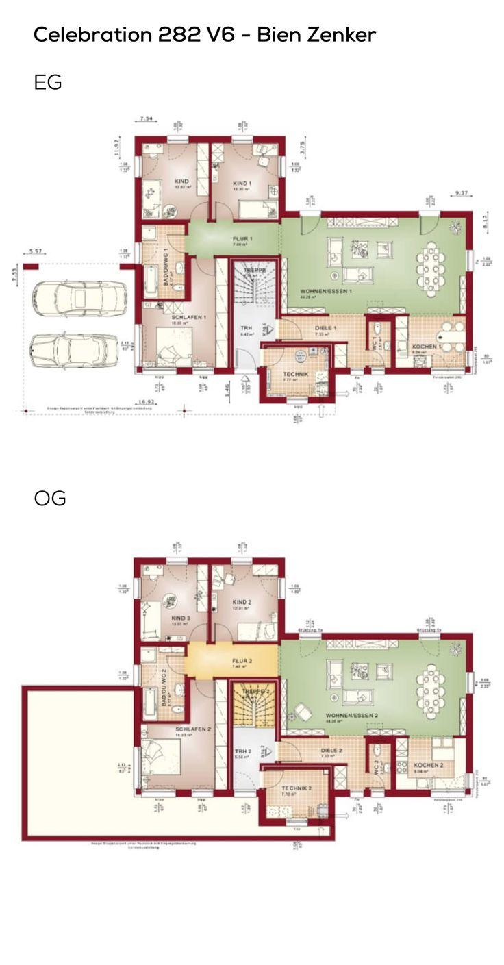 23 besten grundriss zweifamilienhaus bilder auf pinterest for Zweifamilienhaus bauhausstil