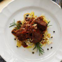 Selle de sanglier à la choucroute - Cuisine et Vins de France