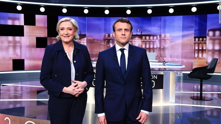Macron gave as good as he got in electric French presidential debate #World #iNewsPhoto