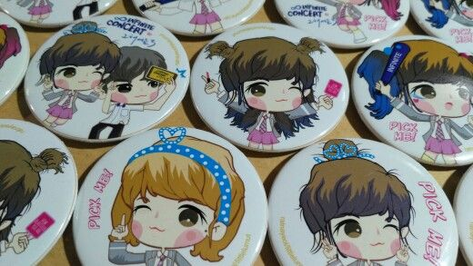 Pin button Pick Me Yeol
