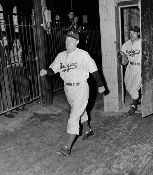 Brooklyn Dodgers manager Leo Durocher