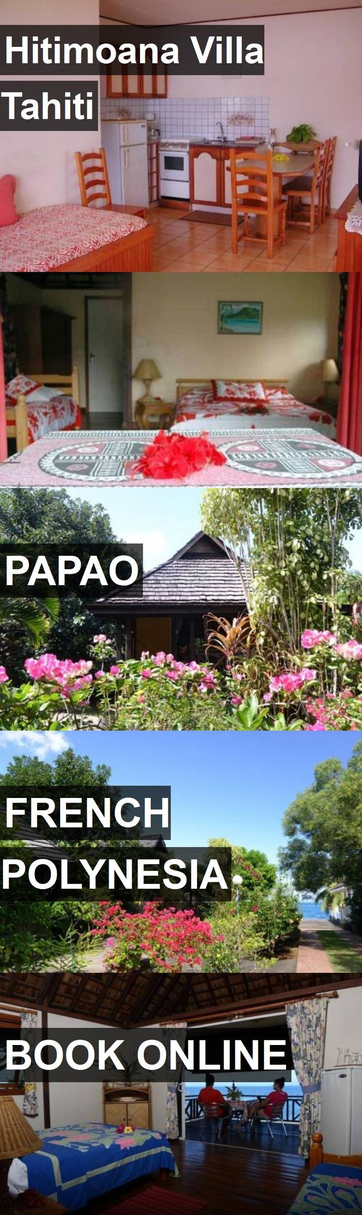 Hotel Hitimoana Villa Tahiti in Papao, French Polynesia. For more information, photos, reviews and best prices please follow the link. #FrenchPolynesia #Papao #travel #vacation #hotel
