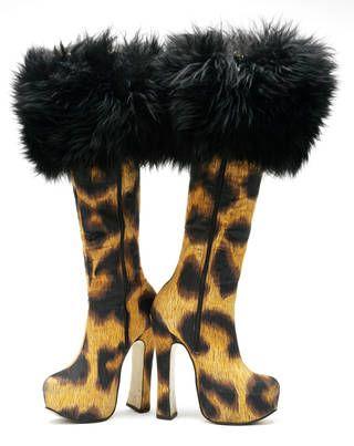 Vivienne Westwood boots, 1991.