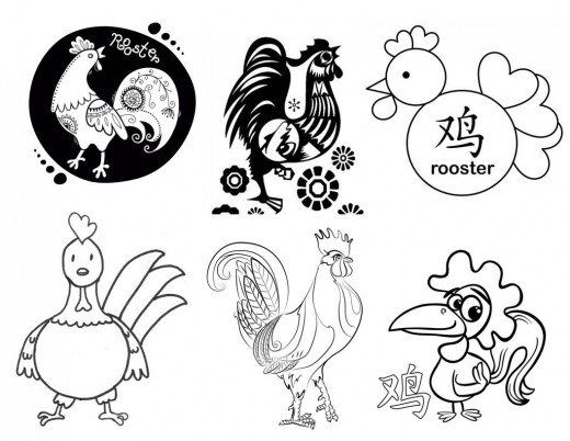 43 best Chinese New Year Ideas images on Pinterest Chinese new - fresh chinese new year zodiac coloring pages