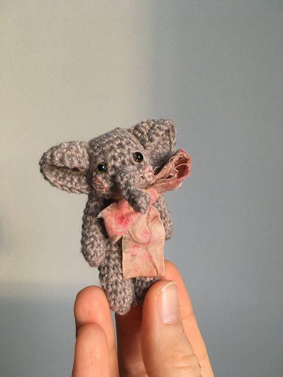 Tiny elephant amigurumi pattern - Amigurumi Today | 760x570