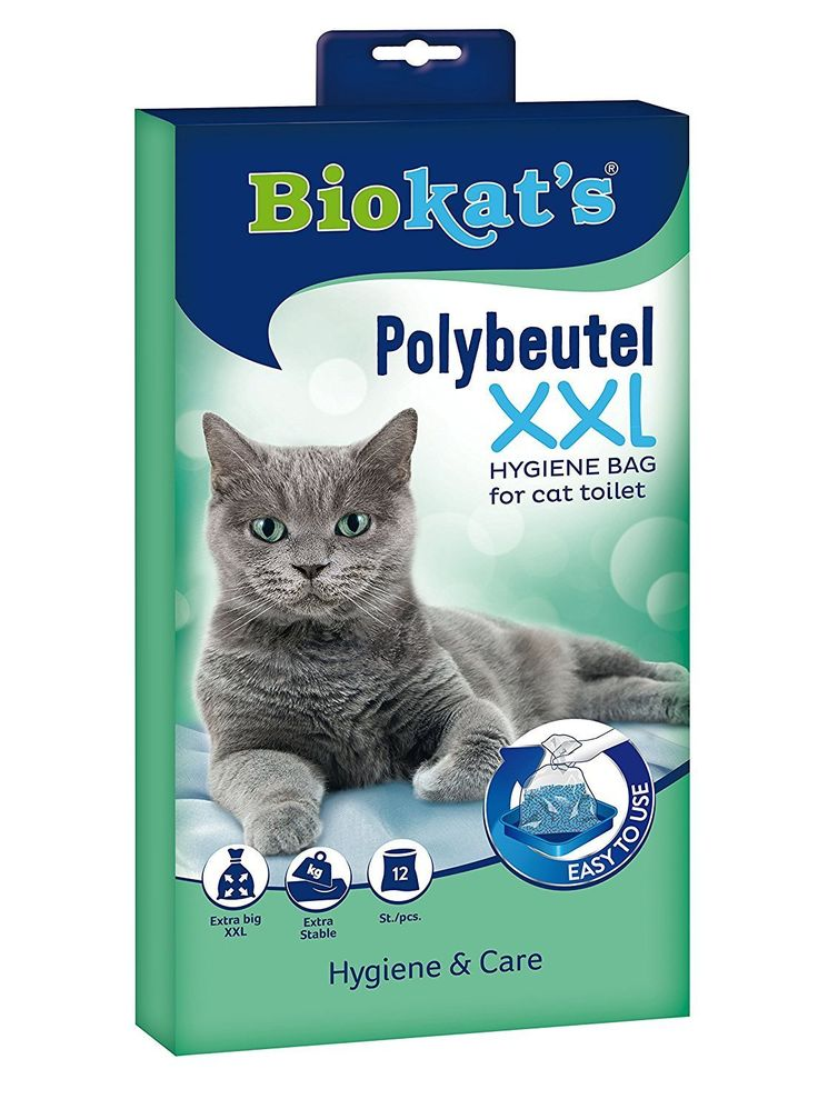 Biokat's Polybags XXL / Extra Large and Stable Hygiene Bags for Cat Litter Tray / 12 Bags -- You can find more details by visiting the image link. #CatLitterandHousetraining