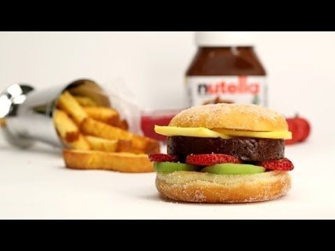 How to Make a Nutella Burger | Eat the Trend - YouTube
